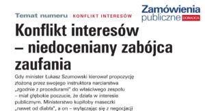 Read more about the article Konflikt interesów – niedoceniany zabójca zaufania